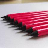 Lápices de madera del negro del diseño del OEM con el borrador