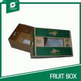 Caixa de papel ondulado para frutas frescas
