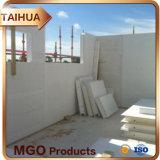 Placa à prova de fogo da placa do óxido de magnésio de Home Depot da casa pré-fabricada barata dos materiais de construção/MGO