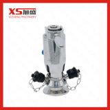 Válvulas asépticas manuales neumáticas inoxidables del muestreo del acero SS316L