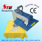 2015 Swing 미국식 Away Head Heat Press Machine 38*38cm T Shirt Shaking Head Heat Transfer Machine Heat Transfer Printing Machine Stc SD03