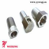 Surtidor apropiado de tuberías de China de la soldadura apropiada hidráulica masculina recta de la instalación