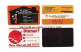 Biglietto da visita poco costoso su ordinazione all'ingrosso che fa pubblicità al magnete del frigorifero