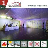 30mのゆとりのスパンの屋外展覧会のためのABSガラス壁が付いている熱の屋根の立方体の構造