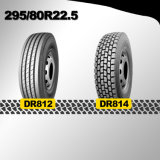 carro del presupuesto del mercado de 295 80 22.5 Américas y neumático del omnibus