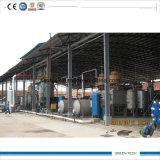 Petróleo de motor usado refinação da planta de destilação do petróleo da alta qualidade ao diesel