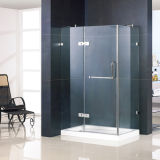 Glass Tempered Shower Enclosure con Solid Brass Hinges