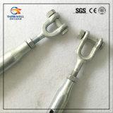 鍛造材は索具ハードウェアによって閉じられるボディ顎および顎のターンバックルを分ける
