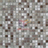 Super weißes Kristallmischungs-Silber-Aluminiummosaik-Fliesen (CFA73)