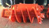 Tipo taladro de Bauer de la roca de la arcilla para la plataforma de perforación rotatoria