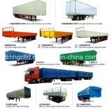Sale를 위한 말뚝 Fence Bulk Cargo Transport Semi Trailer