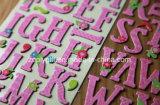 габаритные Handmade Die-Cut стикеры бумажного корабля алфавита 3D/письма