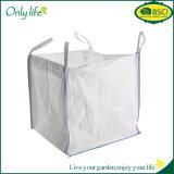 Onlylifeの記憶または葉のコレクションのための正方形の白いホーム庭袋か袋袋