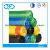 PET biodegradierbarer Drawstring-Abfall-Plastikbeutel mit unterschiedlicher Farbe