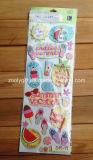 Pink Girl Álbum de recortes de papel hecho a mano del arte adhesivas pegatinas 3D
