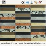 Bunte dekorative quadratische Glasmosaik-Fliesen