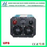 DC48V AC110/120V 2000W UPSの純粋な正弦波の充電器インバーター(QW-P2000UPS)