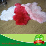 Schaffell Rug Multi Color/Lamb Fur Rug für Hotel/Schlafzimmer Sheepskin Rug/Winter Warm Chair Sheepskin Rug