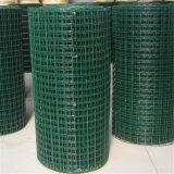 Зеленая ячеистая сеть стальной заварки PVC