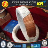 Продукты заварки провода дуговой сварки H08A EL12 3.2mm погруженные в воду с гальваническим омеднением