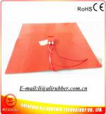 3Dプリンター適用範囲が広いシリコーンゴムのヒーターのための810*830mmの熱くするパッド