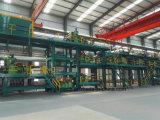 Chaîne de production en acier enduite par couleur de bobine