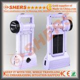 Luz solar portable del LED con 1W la linterna, USB (SH-1971A)