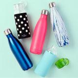 Wasser-Kolben-Metallwasser-Flasche des Edelstahl-17oz