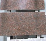 Guilin-Rot marmort Rot der Countertop-Platte-G562 Marple