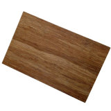 Piso de bambú al aire libre popular, suelo de bambú reconstituido, color carbonizado ligero 18m m