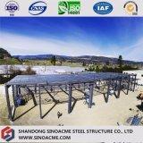 Пакгауз стальной структуры для автопарка