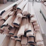 自然な木によって薄板にされるベニヤの木製の出入口(SC-W001)