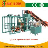 Cimento Brick Making Machine Price em India (QT4-20)