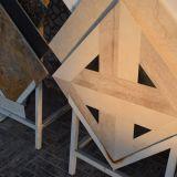 Mattonelle di marmo cruciformi speciali per la parete o il pavimento