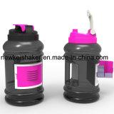 2016 capacidade Eco-Friendly da garrafa de água 2.2L do suporte de cartão do esporte grande