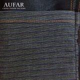 Ln015 Blue Fashion Small DOT Jacquard Denim Fabric per Pants