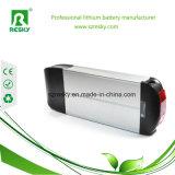 36V 9ah hintere Zahnstange Li-Ionbatterie für elektrisches faltendes Fahrrad