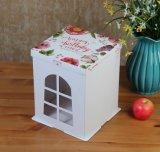 Caja de embalaje de la cubierta de la estructura de cumpleaños del papel creativo de fiesta, rectángulo de regalo de la Navidad, rectángulo de regalo de papel