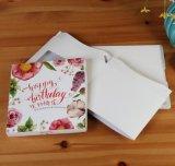 Het creatieve Vakje van de Verpakking van het Document van de Partij van de Verjaardag van de Structuur van de Huisvesting, het Vakje van de Gift van Kerstmis, het Vakje van de Gift van het Document