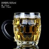 La taza de cerveza/la cerveza ahuecan/el vidrio de cerveza de cristal certificados ISO