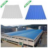 Material de material para techos antienvejecedor de UPVC para la fábrica