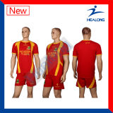 Camisa barata do futebol da camisola feita sob encomenda do futebol
