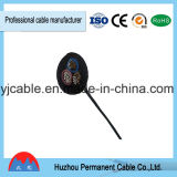 Cabo elétrico revestido e bainha encalhado do PVC do preço de fábrica 3X1.5mm, porta de Ningbo (RVV)