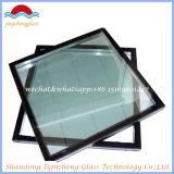 Pared de cortina de cristal aislada tecnología curvada plana/caliente