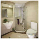 Flach/Bent Tempered/Toughened Glass für Bathroom/Enclosure Door