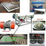 Kohlenstoffstahl-Sand-Schmutz-linearer Schwingung-Bildschirm