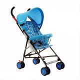 Carrinho de criança simples e fácil do melhoramento novo de quatro cores de bebê