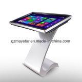 Suelo lleno de HD que coloca el quiosco de interior de la pantalla táctil de la tablilla del LCD