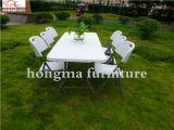HDPE складной столик в 6 ног