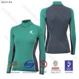 Swimwear lungo Upf 50+ Sun Rashguard protettivo del manicotto per le donne